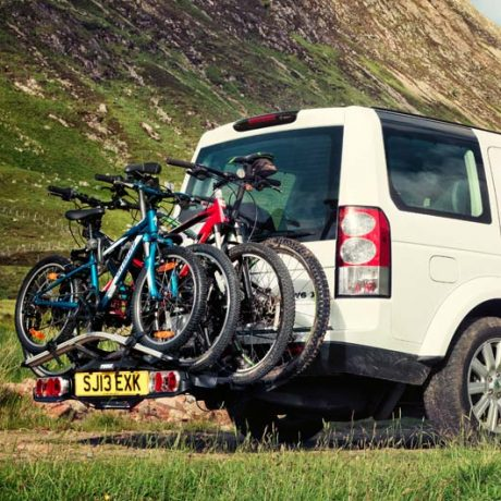 Towbar Mounted Bike Rack