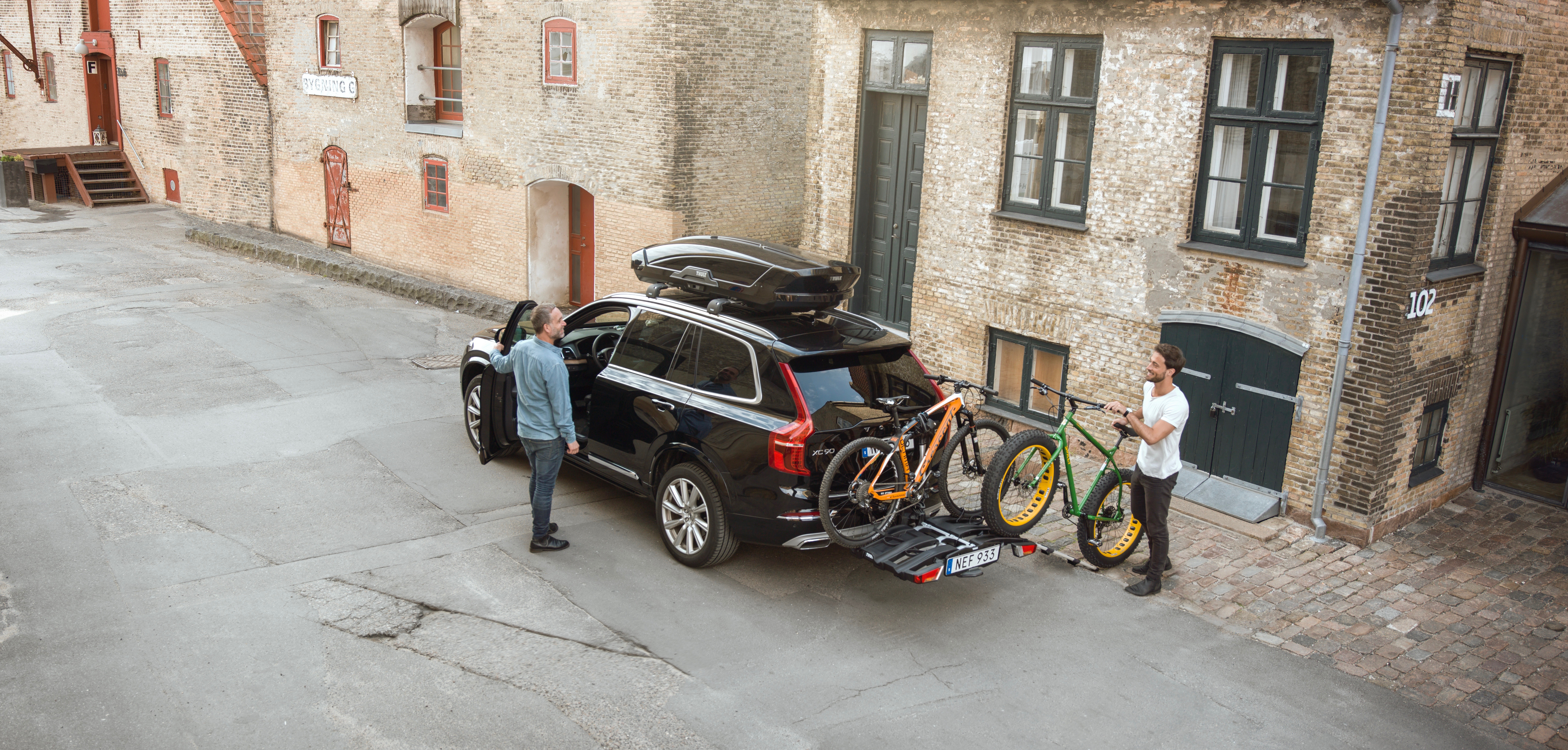 Thule EasyFold XT - Wanted on Voyage