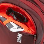 Padded interior pocket protects your phone, sunglasses or other valuables