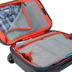 Divided main compartment keeps clean-from-dirty, wet-from-dry, and work-from-play