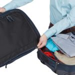 Innovative 3-in-1 solution allows you to pack either one large checked piece of luggage or two smaller carry-ons