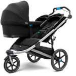 Can be used from birth with Thule Bassinet or infant car seat adapter (sold separately)